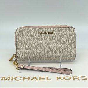 Michael Kors Large Flat MF Phone Case Wallet